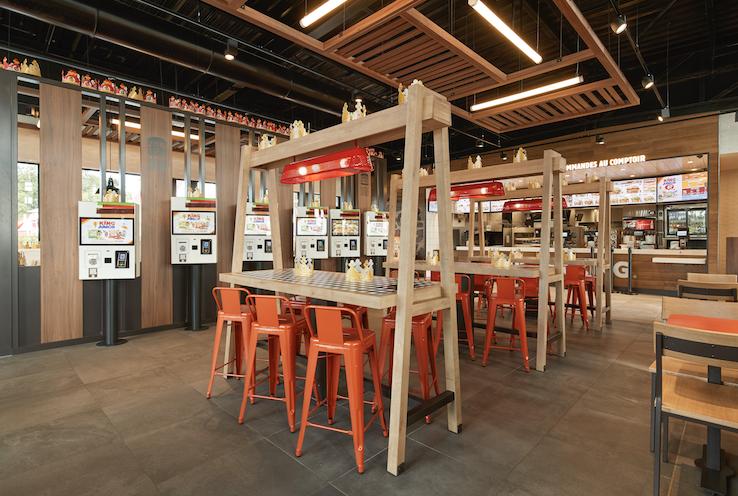 exclusif burger king revoit son design et vise 600 unit s en france d ici 2020 b r a. Black Bedroom Furniture Sets. Home Design Ideas
