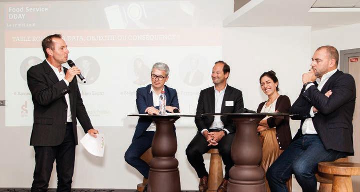 Plusieurs tables-rondes d'experts, de chefs et de restaurateurs se sont succédées. © Myphotoagency.com