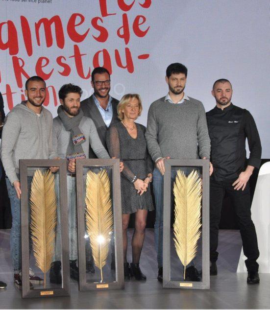 Les lauréats des Palmes de la Restauration du Leaders Club France 2019.