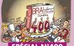 400e numéro pour le magazine professionnel B.R.A. Tendances Restauration ! (Illustration : Félé)