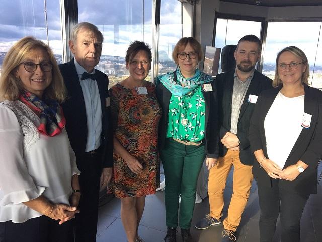 De gauche à droite : Carole Rocher, Marc Grandmougin, Sylvaine Bouquerel, Catherine Bournizien, Cyril Soulès et Karine Marchalant.