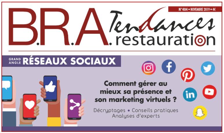 B.R.A. n°405 - Réseaux Sociaux
