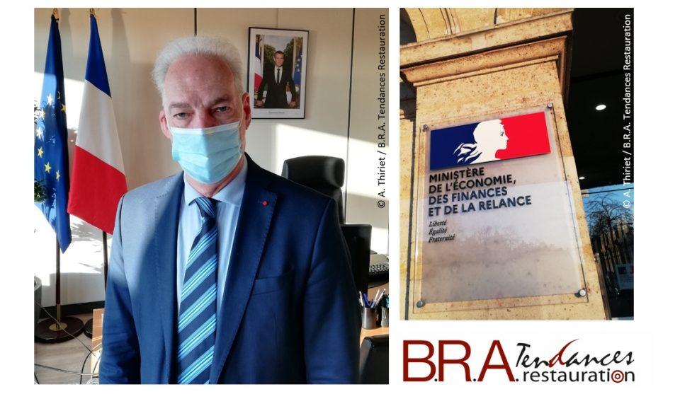 Alain Griset a été interviewé par B.R.A. Tendances Restauration