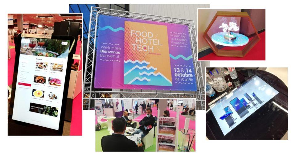 Food Hotel Tech Nice 2020 a rencontré un beau succès. (c) A. Thiriet