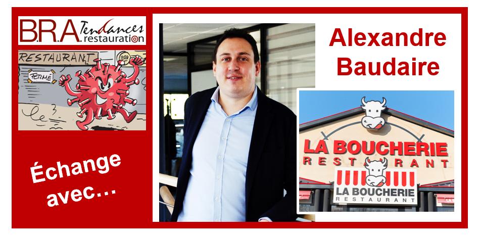 Alexandre Baudaire, directeur général délégué du groupe La Boucherie.