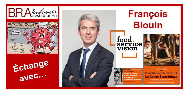 François Blouin, président-fondateur de Food Service Vision