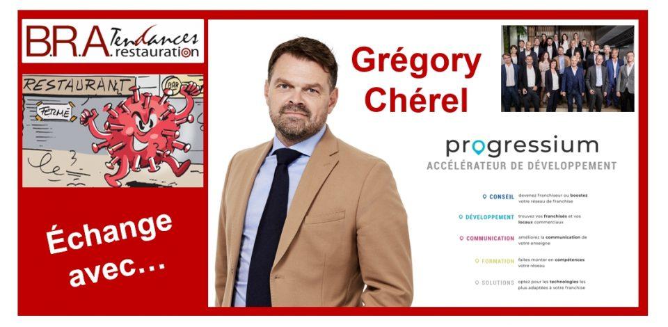Grégory Chérel, responsable développement franchises restauration chez Progressium