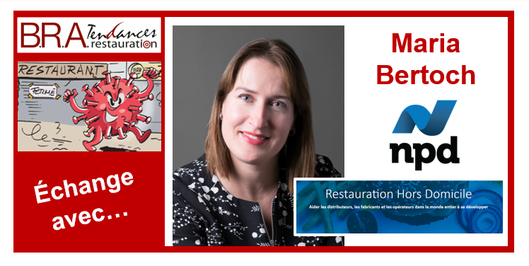 Maria Bertoch, foodservice industry expert chez NPD.