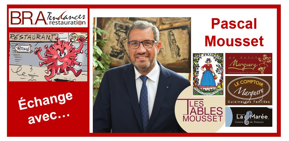 Pascal Mousset, dirigeant des Tables Mousset à Paris