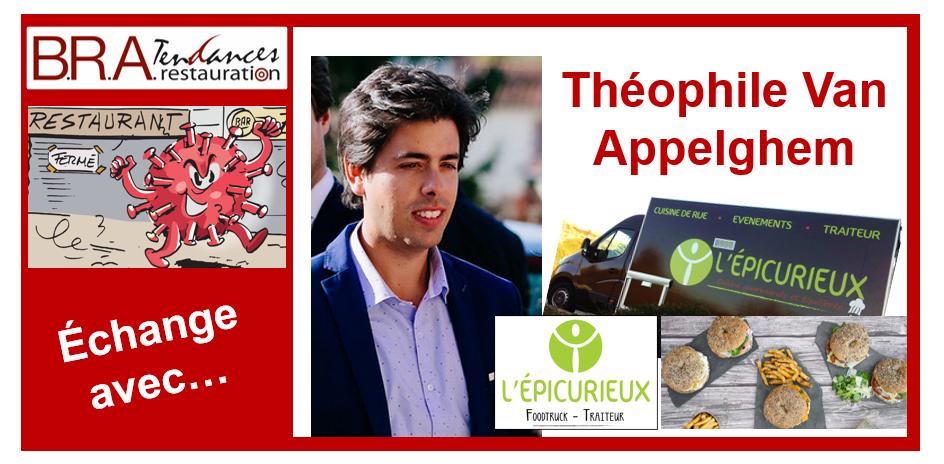 Théophile Van Appelghem, cofondateur des food trucks L'Épicurieux à Toulouse