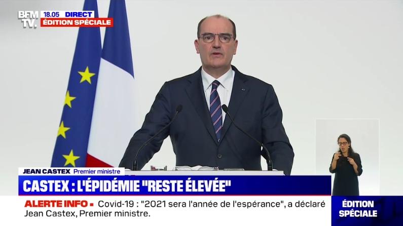 Jean Castex, le 7 janvier