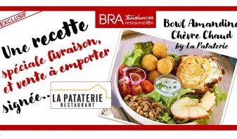 Recette Bowl La Pataterie - B.R.A. Tendances Restauration