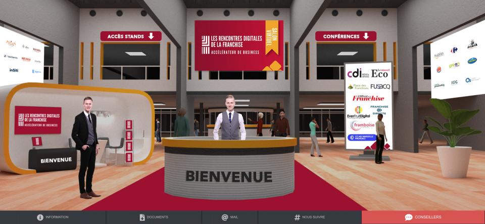 Les Rencontres digitales de la Franchise se sont déroulées mardi 30 mars 2021.