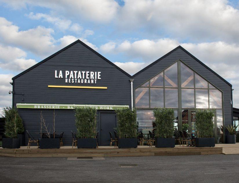 Après une période compliquée, l'enseigne La Pataterie, qui compte 82 restaurants en France, reprend sa croissance. Photo DR