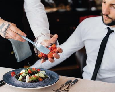 La personnalisation de l'assiette et les finitions en salle sont fortement appréciées par les clients en 2021.